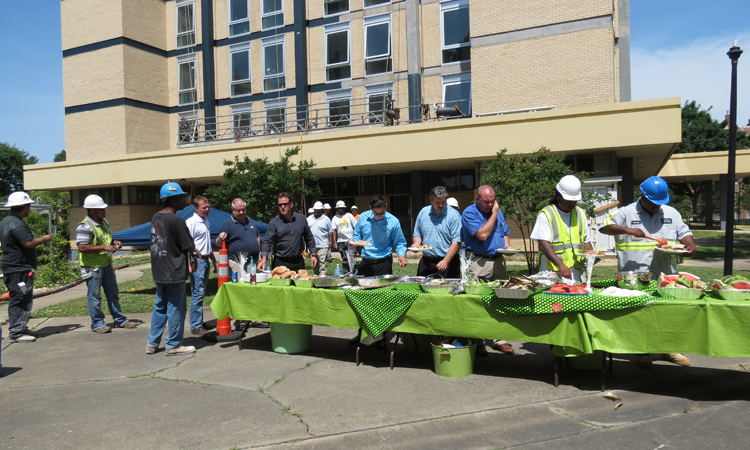 Edwin Towers - Subcontractor Appreciation Cook-Out